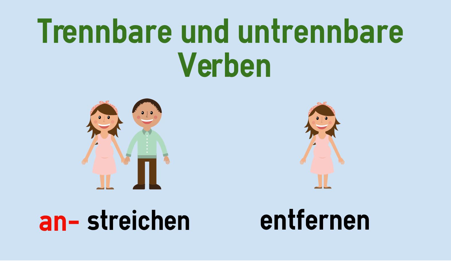 Động từ tách trong tiếng Đức